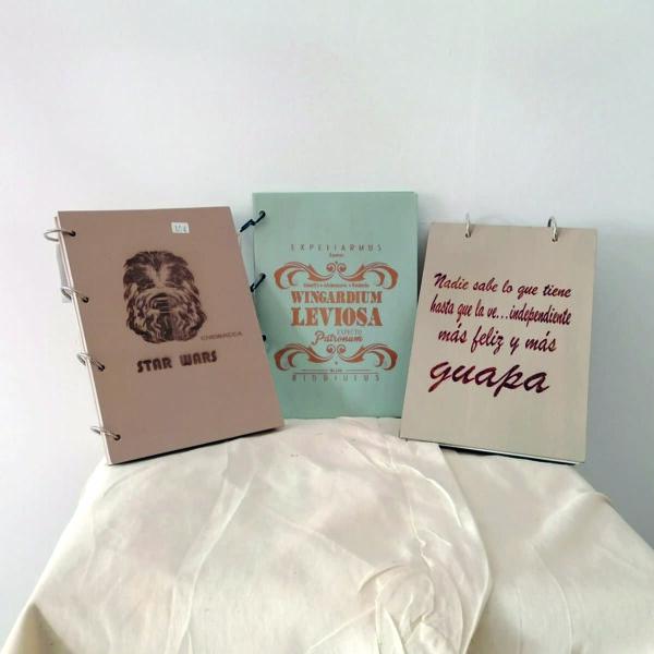 _C_16 Cuaderno tapa de madera